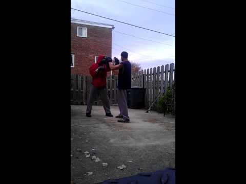 Boxing Mitt Work Drills