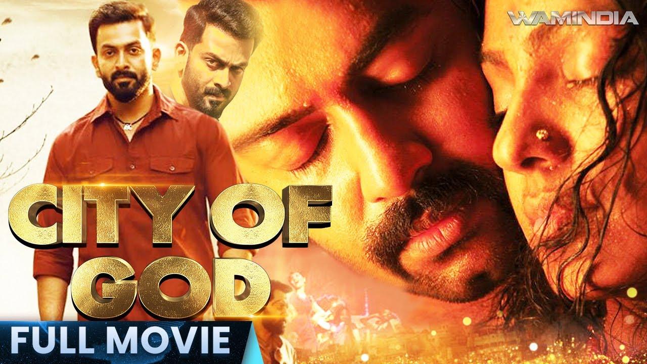 Download City of God   Full Hindi Dubbed Movie   Prithviraj, Shweta   With English Subtitles   Action Movie