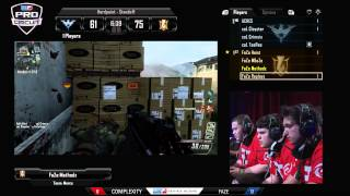 Faze vs compLexity - Game 1 - CWR2 - MLG Anaheim 2013