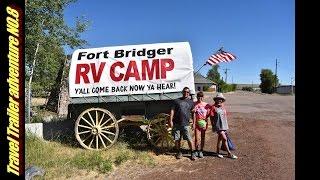 RV CAMPING FORT BRIDGER WYOMING