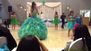 Ayana's Quinceanera Waltz and Surprise Dance