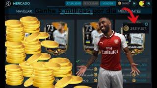 Trade FIFA Mobile 20- Ganhe 5 milhões por dia com jogadores prata