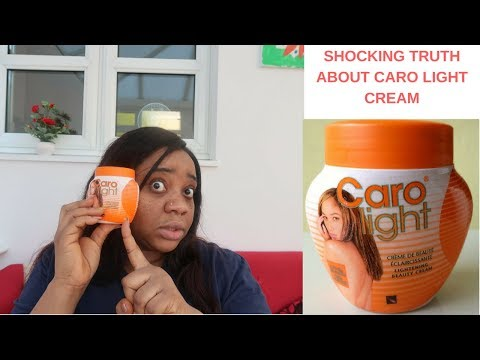 SHOCKING TRUTH ABOUT CARO LIGHT CREAM - MY EXPERIENCE