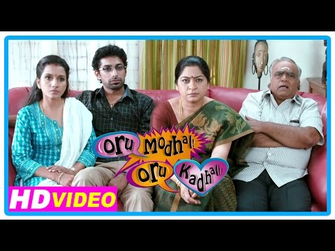 Oru Modhal Oru Kadhal Movie | Scenes | Vivek Reveals About His Girlfriend To His Family | Meera