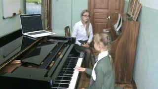 Загний Анастасия Сергеевна. Работа над музыкальным образом произведения в младших классах ДШИ