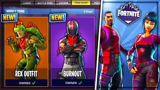 NEW FORTNITE SKINS & ITEMS LEAKED! - New Outfits, Pickaxes & More! (Fortnite Battle Royale)