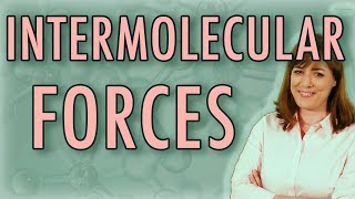 What are Intermolecular Forces?    Chemical Bonds    Chemistry