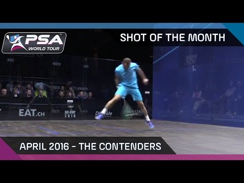 Squash: Shot of the Month - April