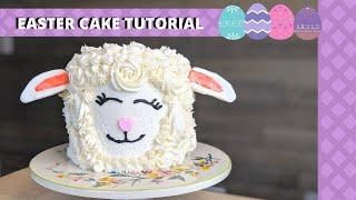LAMB CAKE TUTORIAL  EASTER CAKE