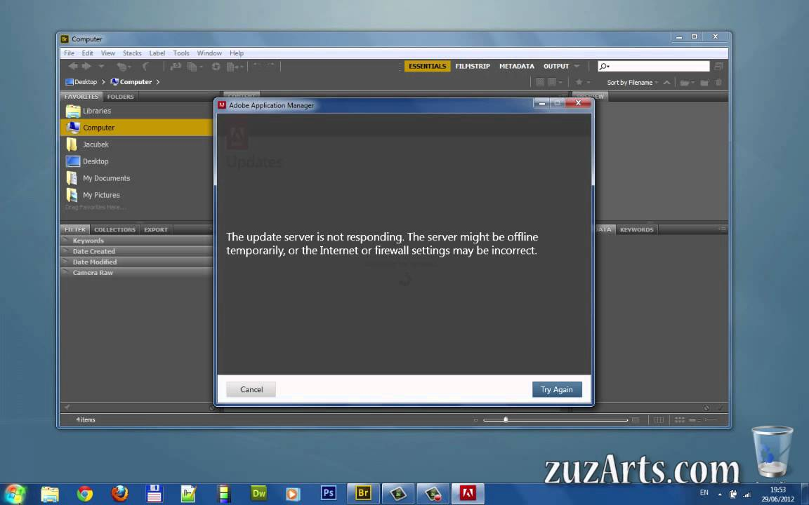 how to delete adobe updater