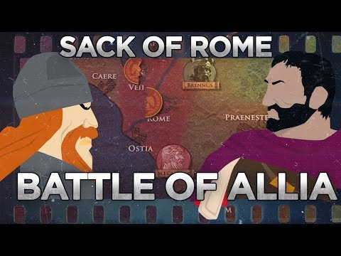Battle of Allia and Sack of Rome – Rise of the Republic DOCUMENTARY