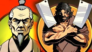 ЖИРНЫЙ МЯСНИК против СТАРИКА мультик для детей Shadow Fight 2 СПЕЦИАЛЬНОЕ ИЗДАНИЕ игра бой с тенью