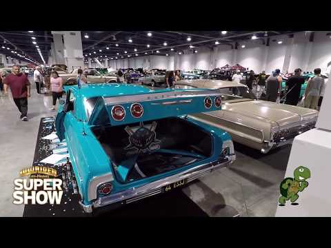 Lowrider Supershow 2018 vlog las vegas convention center HD 4k stabilizer video