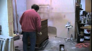Refinishing A Pine Dresser Built By The Pine Shop  Timeless Arts Refinishing