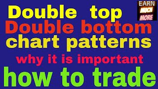 Double top and double bottom patterns - importance and how to trade on double top and double bottom