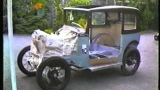 Austin 7 box saloon 1934 Home restoration 1983/84