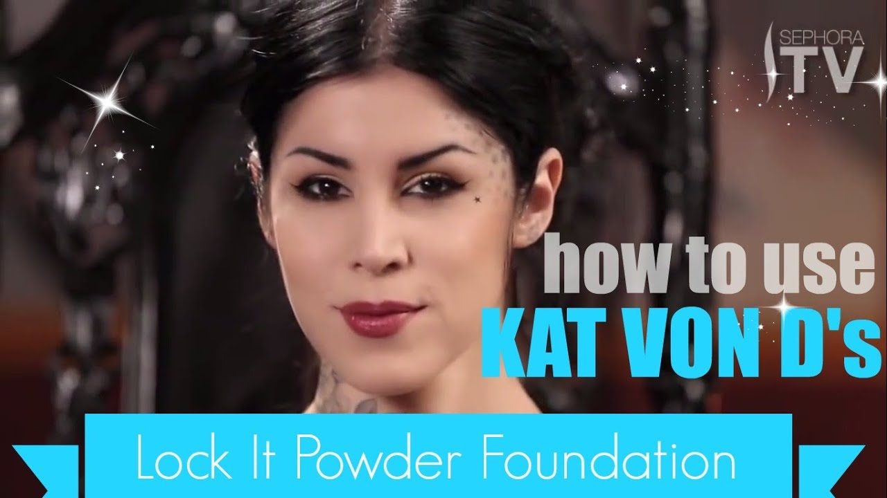how to use powder foundation