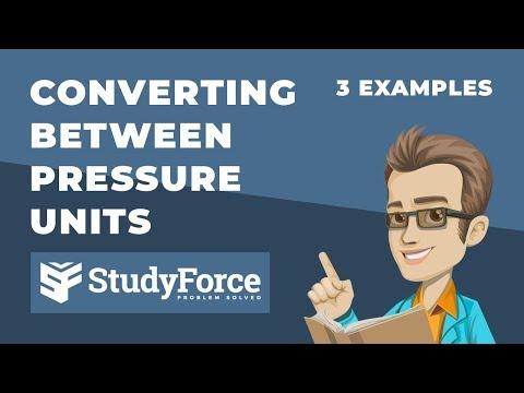 ⚗️ Converting between Pressure Units