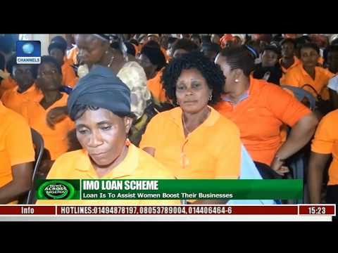 News Across Nigeria: Imo State Govt. Disburses Funds To Women From 305 Wards