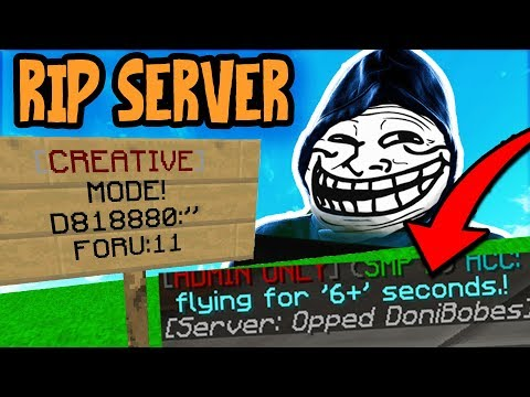 I CONVINCED A SERVER OWNER TO GIVE ME /OP (Trolling Server Owners)