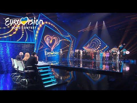 Результаты голосования – Национальный отбор на Евровидение-2020. Второй полуфинал