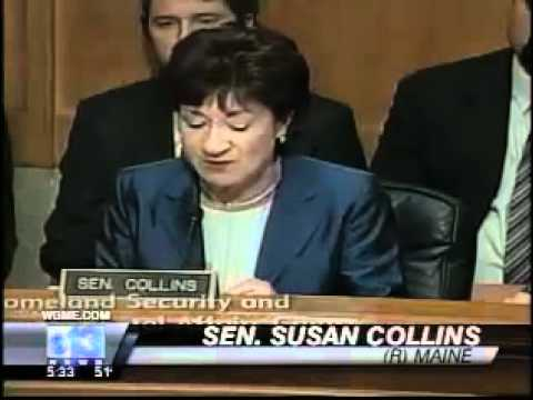 WGME Report - Senator Collins and air cargo security