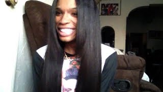 Repeat youtube video MagicHairCompany.com Filipino Straight Hair Review!!! ( 2x 26,24 & 22 + Lace Closure )
