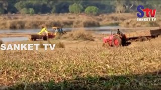 Odisha : Villagers oppose illegal sand mining in Balasore | Sanket Tv