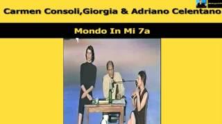 Carmen Consoli,Giorgia & Adriano Celentano Mondo In Mi 7a