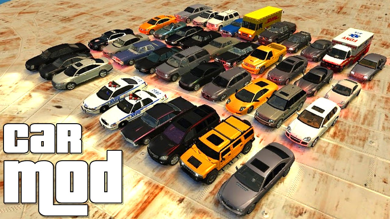 Grand Theft Auto IV - Ultimate Vehicle Pack Car MOD GTAIV