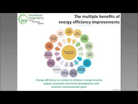 Conceptual framework for evaluating multiple benefits from energy efficiency