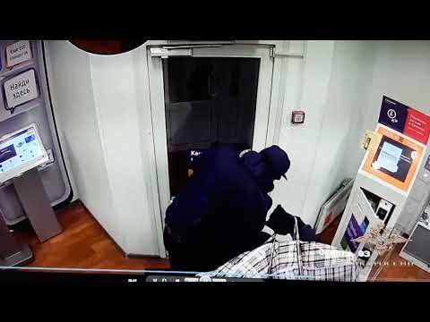 Задержание грабителей салона