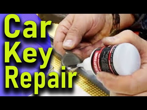 How To Repair Broken Car Key Youtube