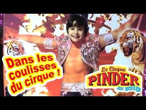 Vlog Famille On Visite Du Pinder En Les Coulisses Cirque jL54AR