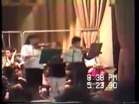 1990 Washington School Spring Concert/6th Grade Graduation Clip Nutley, NJ
