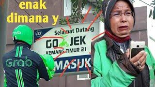 fenomena ojol ojek online [ mitra gojek & grab bike ]di Indonesia