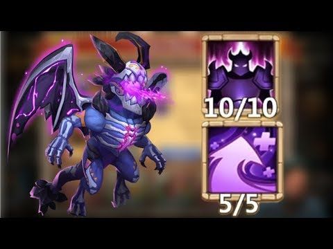 Skeletica | 10/10 Wicked Armor | 5/7 Hyper Strength | Castle Clash