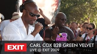 Carl Cox b2b Green Velvet - Live at Exit mts Dance Arena
