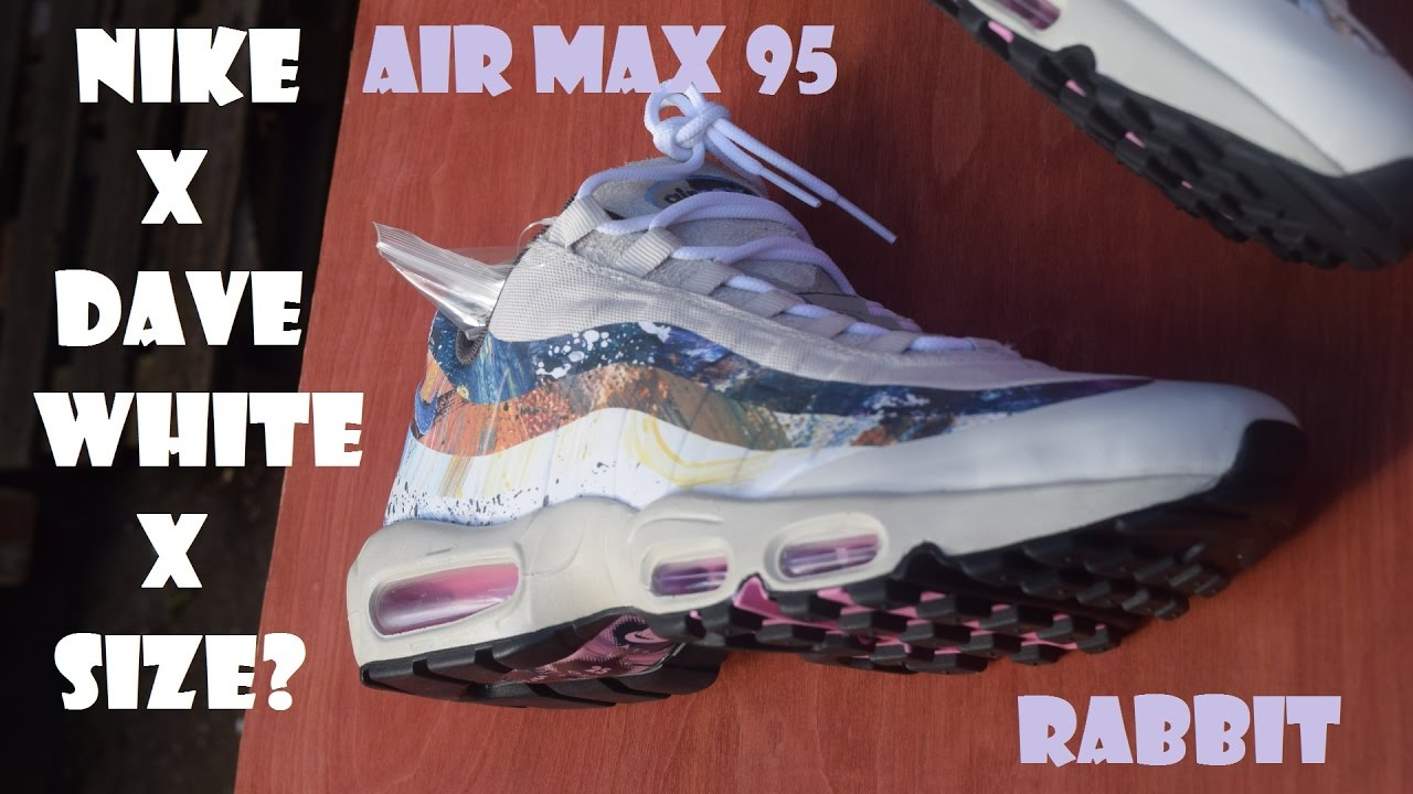 02451011b1 ... cheapest size x dave white x nike air max 95 rabbit review 81630 aee7d