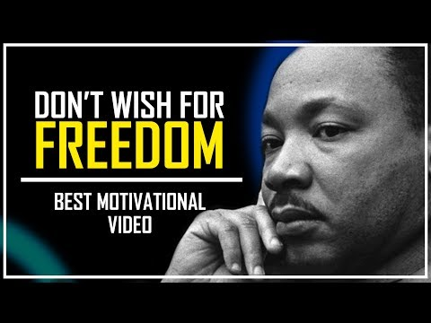 BELIEVE IN YOUR WORTHINESS! ✨ || Martin Luther King Jr. || Real Life Success Story