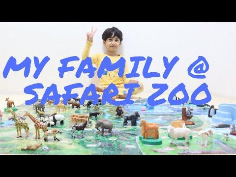 #Safaritrip | Family safari trip || Safari Zoo || Animal Zoo park ||Part-01 || Kids Entertainment || |