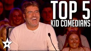 TOP 5 Kid Comedians on Got Talent | Got Talent Global