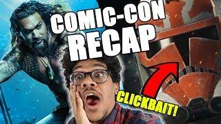 Comic-Con Trailer Recap (Clone Wars Season 7 Reaction)