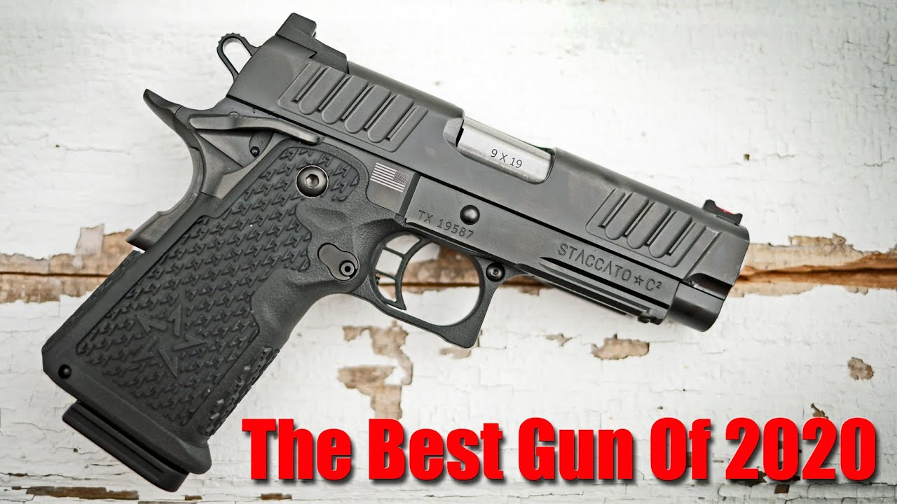 Staccato C2 1000 Round Review: The Best Compact 9mm Pistol