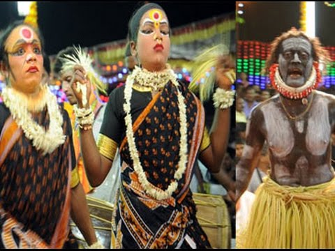 Mangaloreans perform Bhuta Kola, a spirit dance to appease Lord Shiva