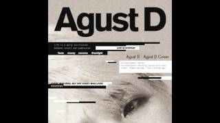 Agust d - (cover)