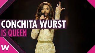 Conchita Wurst is Queen