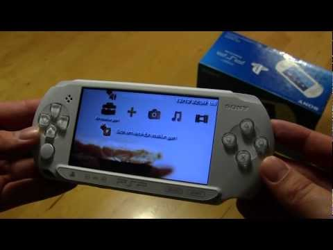 Ausprobiert: Hands On Video der Sony PSP-E1004 in weiß [German]