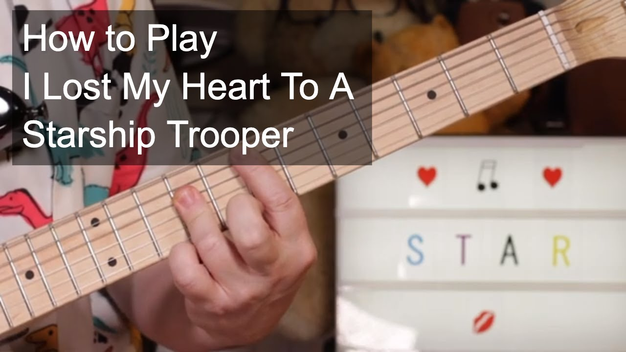 'I Lost My Heart To A Starship Trooper' Sarah Brightman & Hot Gossip Lesson & Glarry Guitar Try Out