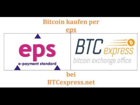 BTCexpress Bitcoin kaufen mit eps